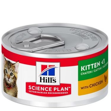 Hill's Science Plan Kitten Κονσέρβα 82gr