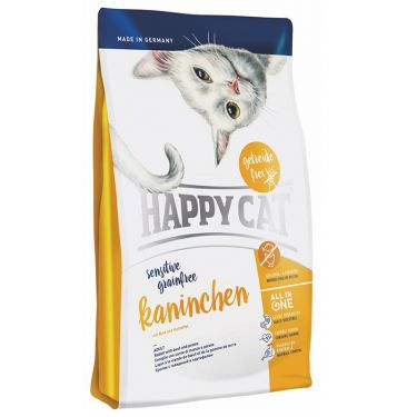 Happy Cat Sensitive-Grain & Gluten Free Κουνέλι