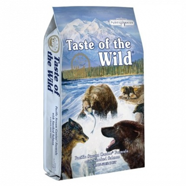 Taste of the Wild Pacific Stream Canine με Καπνιστό Σολομό