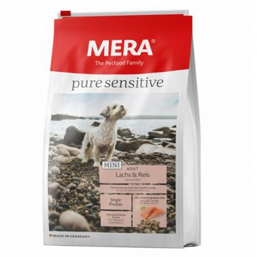 Mera Pure Sensitive Mini Adult Salmon & Rice