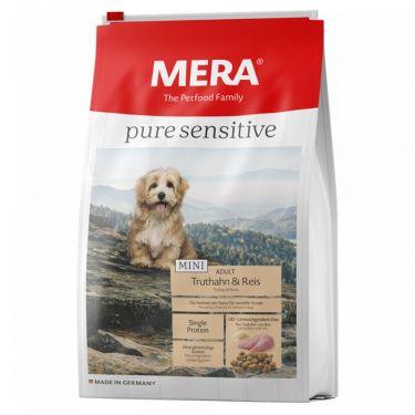 Mera Pure Sensitive Mini Adult Turkey & Rice
