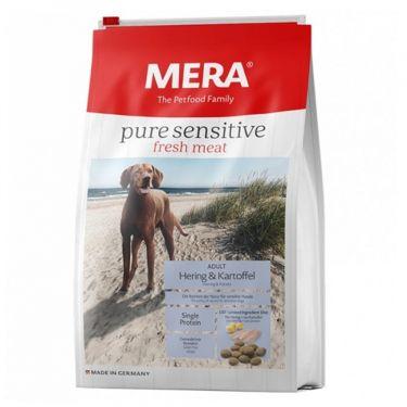 Μera Pure Sensitive Fresh Meat Hering & Potato Grain Free