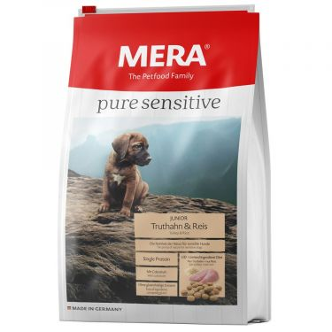 Mera Pure Sensitive Junior Turkey & Rice