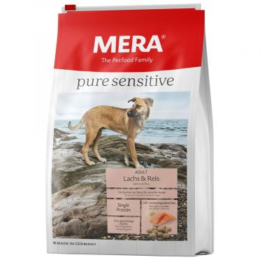 Μera Pure Sensitive Salmon & Rice