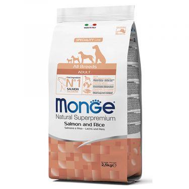 Monge Adult All breed με Σολομό & Ρύζι