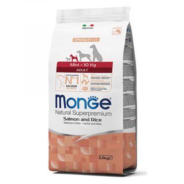 Monge Adult Mini με Σολομό & Ρύζι