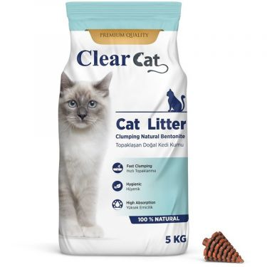 Clear Cat Natural Clumping