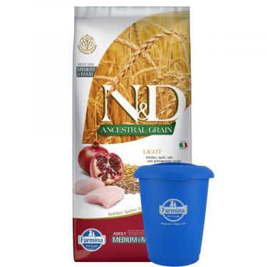 N&D Ancestral Low Grain Chicken & Pomegranate Light Medium/Maxi