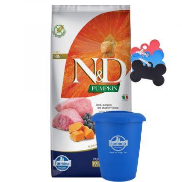 N&D Grain Free Pumpkin Lamb & Blueberry Puppy Mini