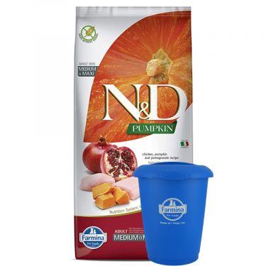 N&D Grain Free Pumpkin Chicken & Pomegranate Adult Medium/Maxi