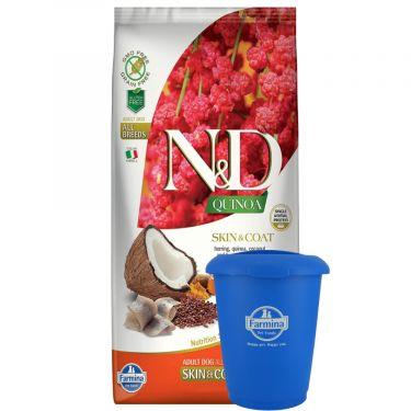 N&D Quinoa Grain Free ''Skin & Coat'' Herring Adult Dog All Breeds