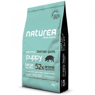Naturea Naturals Puppy Large Breed Iberian Pork
