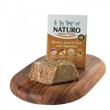 Naturo Κονσέρβα Σε Δίσκο Adult Dog Vegetables Small Breed 150gr
