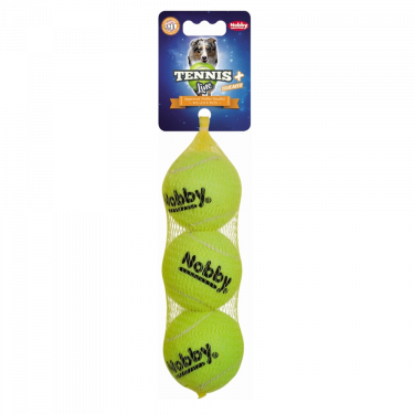 Nobby Tennis Ball Set 3 psc with Squeaker