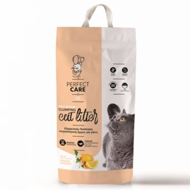 Perfect Care Cat Litter Πορτοκάλι