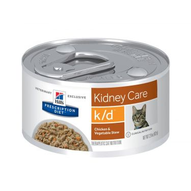 Hill's PD k/d Feline Chicken & Vegetables with Stew