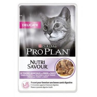 Proplan Nutri Savour Delicate Φακελάκια 85gr