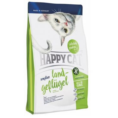 Happy Cat Sensitive-Grain & Gluten Free Πουλερικά