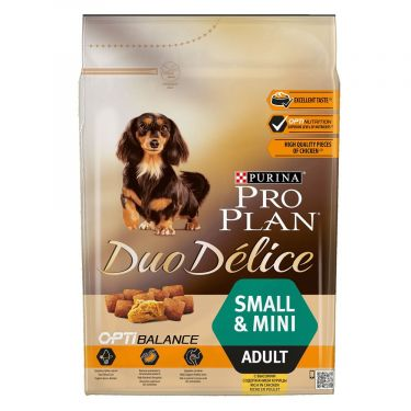 Pro Plan Duo Delice Adult Small & Mini  Κοτόπουλο