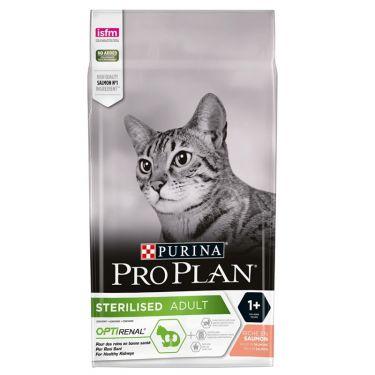 Pro Plan Cat Adult Sterilised Optirenal με Σολομό