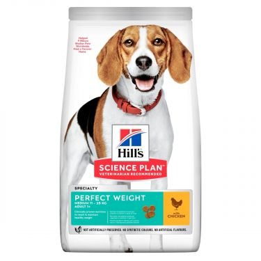Hill's Science Plan Adult Perfect Weight Medium Chicken