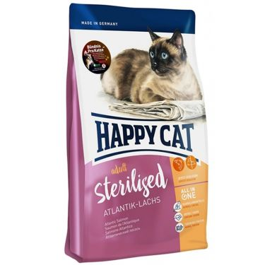 Happy Cat Adult Sterilised Σολομός
