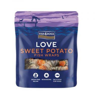 Fish4Dogs Love Sweet Potato Wraps 100gr