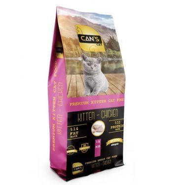 Can's Cat Kitten με Κοτόπουλο