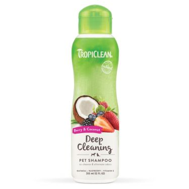 Tropiclean Berry & Coconut - Deep Cleaning Shampoo