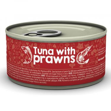 Naturea Tuna with Prawns κονσέρβα γάτας