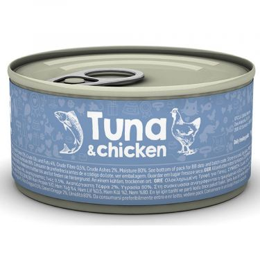 Naturea Tuna & Chicken κονσέρβα γάτας