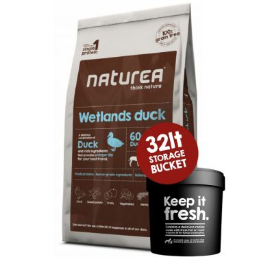 Naturea Wetlands Duck-Grain Free