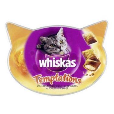 Whiskas Temptations & Anti-Hairball 60gr