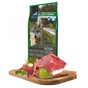 Wolf's Mountain Dog Wild Forest Grain Free