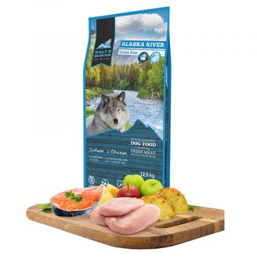 Wolf's Mountain Dog Alaska River Grain Free
