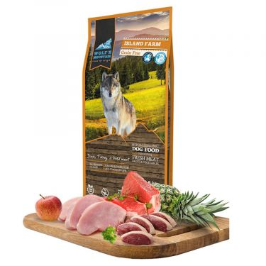 Wolf's Mountain Dog Island Farm Grain Free