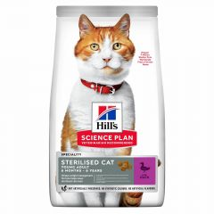 Hill's Science Plan Young Adult Sterilised Cat Πάπια