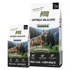 "Natura Wild Adult Dog Grain Free ""Ontario Wildland"" με Αρνί & Γαλλικό Χοιρινό"