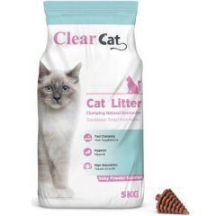 Clear Cat Baby Powder Clumping